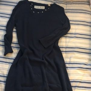 Jack Wills Sweater Dress with Cable sleeves